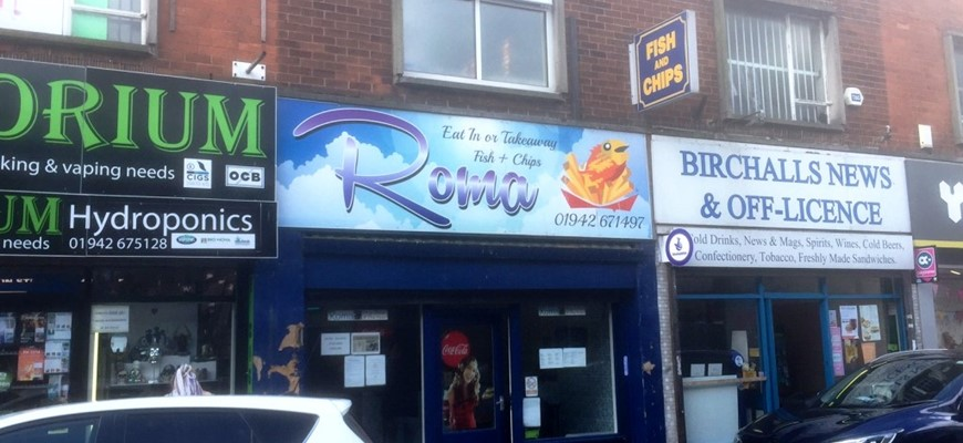 PRICE REDUCED - Leigh - Fish & Chip Shop