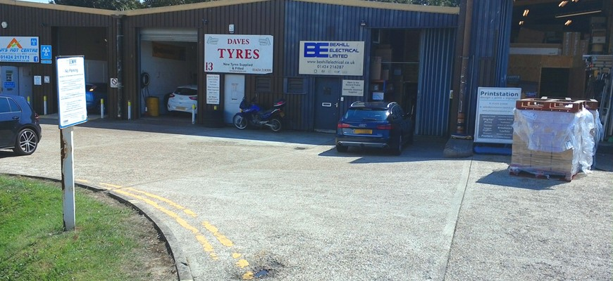 PRICE REDUCED - Car Repairs & Tyre business in Bexhill