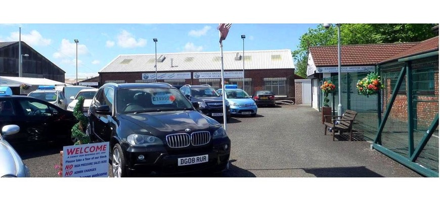 PRICE REDUCED - Well Established Car Dealership in Preston