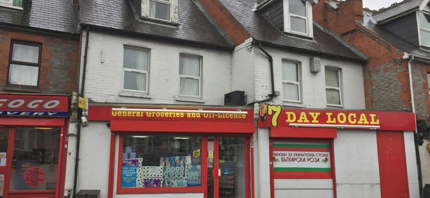 GENERAL GROCERIES & OFF LICENCE IN READING AVAILABLE!