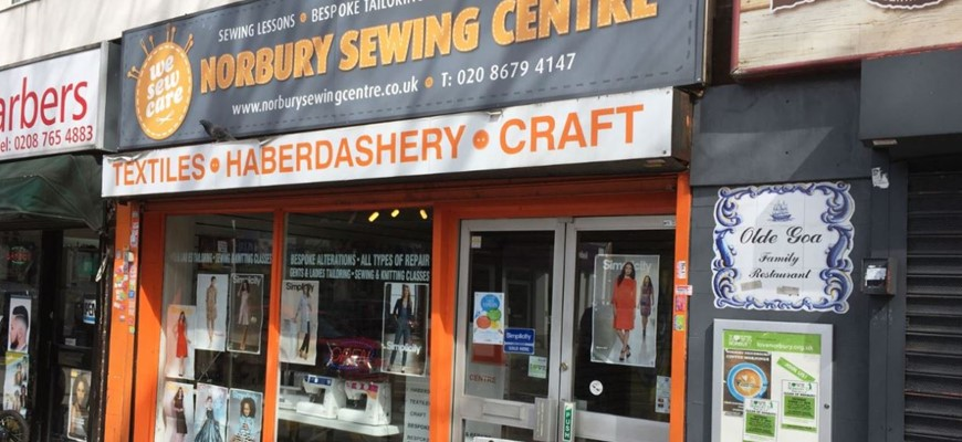 PRICE REDUCED - Bespoke Sewing & Craft Centre In Croydon