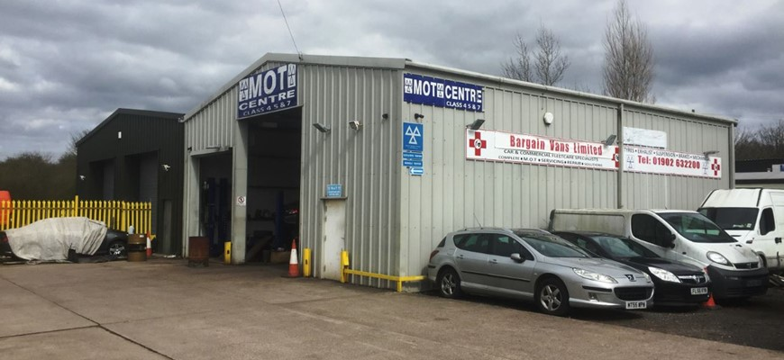 PRICE REDUCED - Commercial MOT & Vehicle Workshop In Wolverhampton