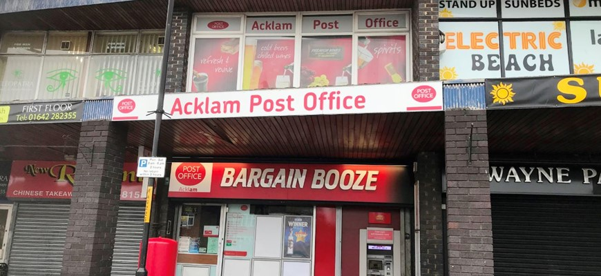 PRICE REDUCED - Off Licence and Post Office in Middlesbrough